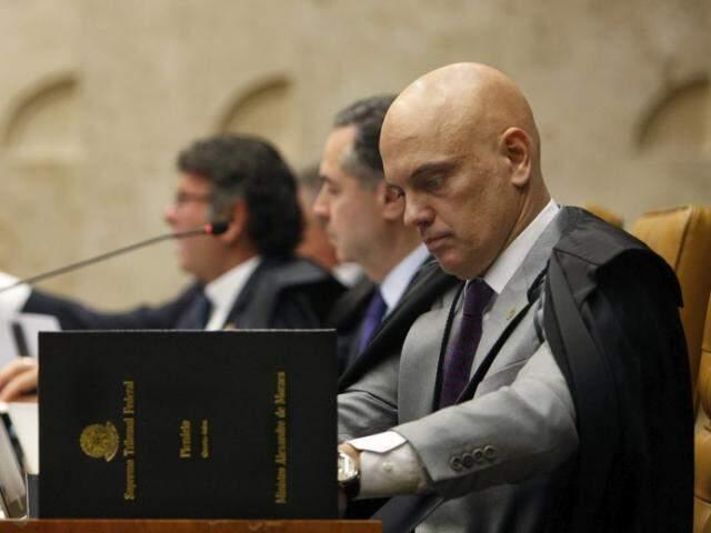 Moraes acatou pedido da PRG e decretou prisão dos investigados na Lama Asfáltica. (Foto: Rosinei Coutinho/SCO/STF)