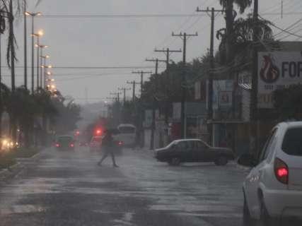 Com chuva, sensação térmica chega a ser de 5ºC em Mato Grosso do Sul