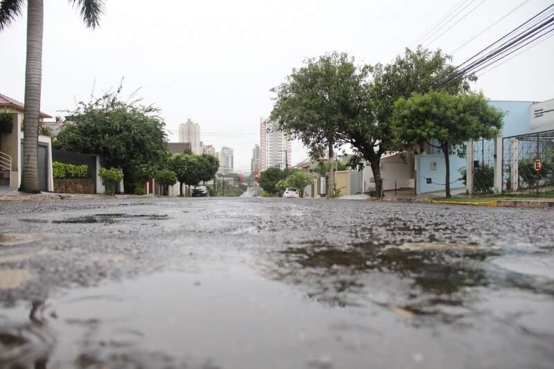 Previsão é de pouca chuva para a maior parte de Mato Grosso do Sul. (Foto: Marcos Ermínio)