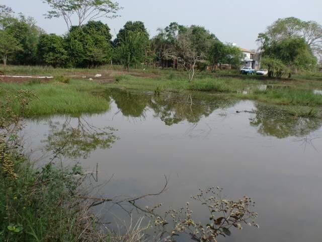 Lagoa natural e nascentes estavam sendo degradadas e poderiam desaparecer. (Foto: Divulgação)