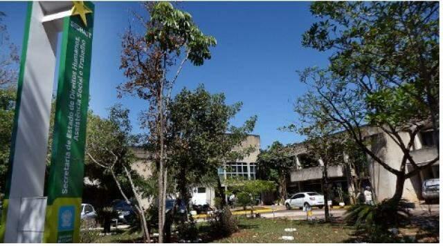 Secretaria fica no Parque dos Poderes (Foto: assessoria de imprensa / Sedhast)