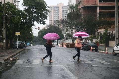 Novembro teve apenas 42% das chuvas esperadas para o mês em MS