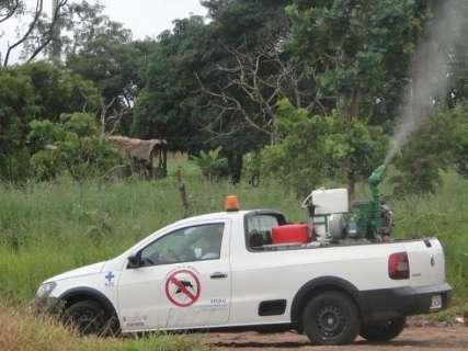 Capital tem 7 bairros com fumacê no combate ao mosquito da dengue