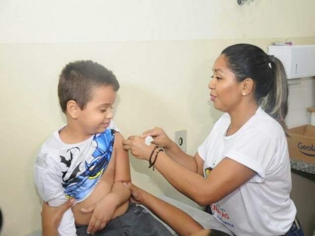 Campanha de vacinação foi prorrogada em todo Mato Grosso do Sul (Foto: Paulo Francis/Arquivo)