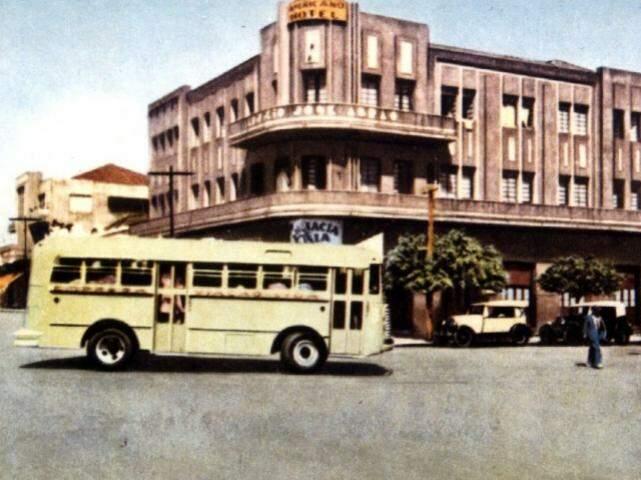 Edifício José Abrão, no Centro de Campo Grande.