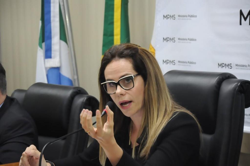 Conforme Cristiane Mourão, coordenadora do Gaeco, juiz determinou bloqueio de R$ 44 milhões.  (Foto: Paulo Francis)