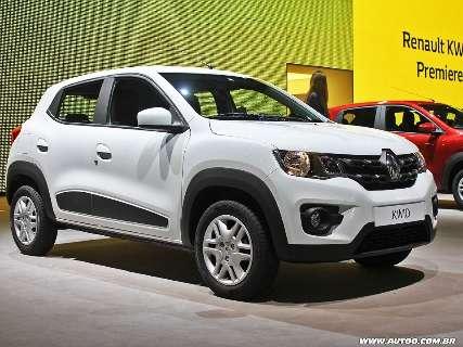 Renault faz recall de todos os carros do modelo Kwid fabricados no Brasil