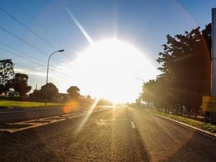 Domingo será de sol na Capital e chuvas isoladas em parte do Estado