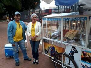 Casal faz ressalvas ao projeto e enfatiza participação familiar (Foto: Clayton Neves)