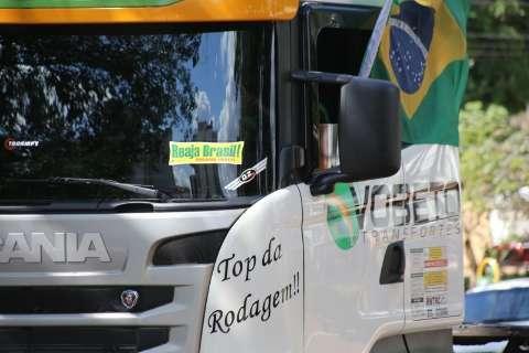 Carreata pró-impeachment percorre hoje as principais avenidas da Capital