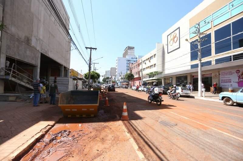 C & A vai investir R$ 16 milhões em uma filial em frente ao Patio Central. (Foto: Marcelo Victor)