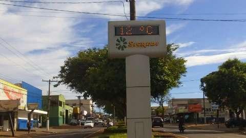 Região tem frio de 3,6 graus, mas Embrapa não confirma geada