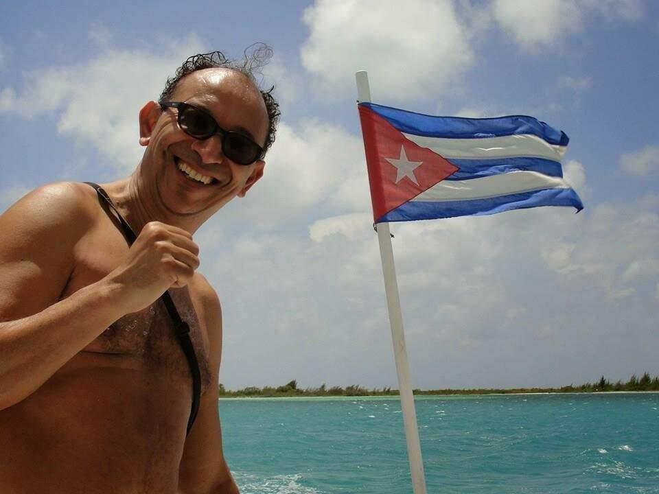 Passagem por Cuba. (Foto: Arquivo Pessoal)