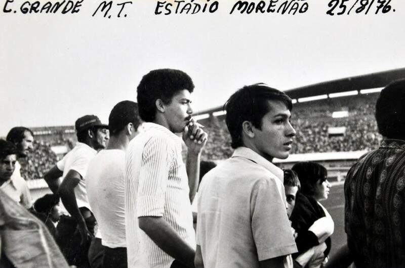 Antônio e Gilson em jogo no Morenão (Foto: Arquivo)