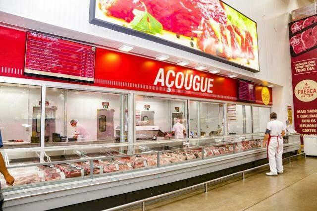 Açougue Carne Fresca é uma exclusividade das lojas Parati e Coronel Antonino. (Foto: Kisie Ainoã)