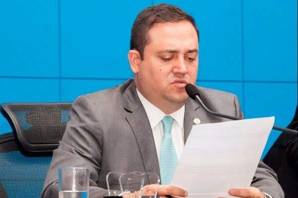 Deputado Márcio Fernandes apresentou projeto na Assembleia (Foto: Divulgação/ALMS)