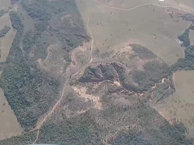 Vista do Planalto em Camapuã. (Foto: Instituto Agwa/Reprodução)