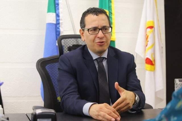 procurador-geral de Justiça de Mato Grosso do Sul, Paulo Cezar dos Passos (Foto: André Bittar)
