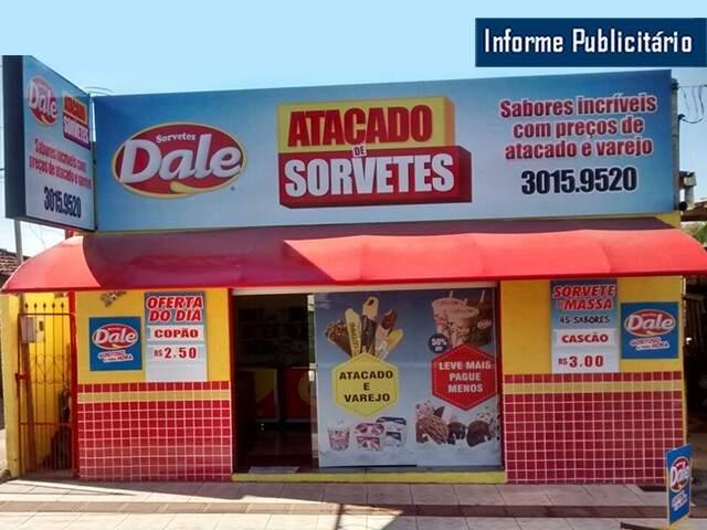 Dale agora tem duas lojas que só vendem no atacado.