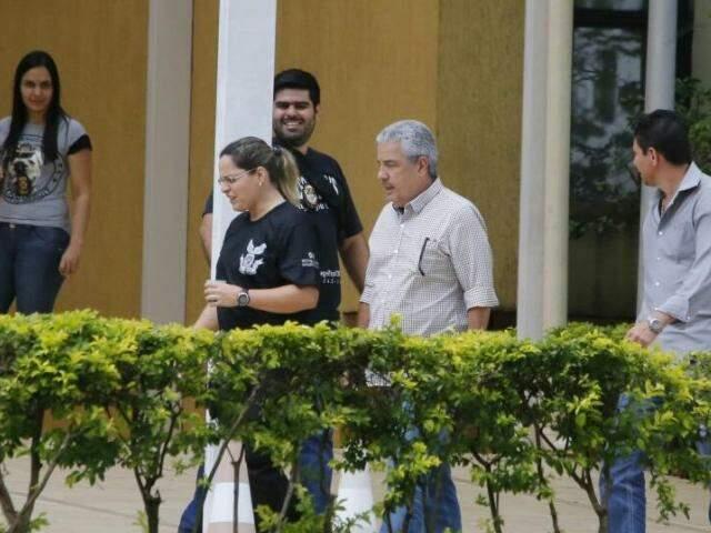 Principal investigado pela Operação Lama Asfáltica, João Amorim também recebeu alvará de soltura. (Foto: Gerson Walber)