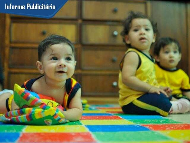 Fofuras entram na escola ainda bebês e tem muito estímulo na Sossego da Mamãe. (Foto: Alcides Neto)