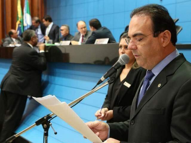 Projeto é do deputado Felipe Orro (PSDB) e foi antes aprovado na Assembleia (Foto: Assembleia/ALMS)