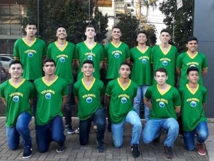 Seleção de voleibol de MS disputa Brasileiro em Minas Gerais nesta 4ª