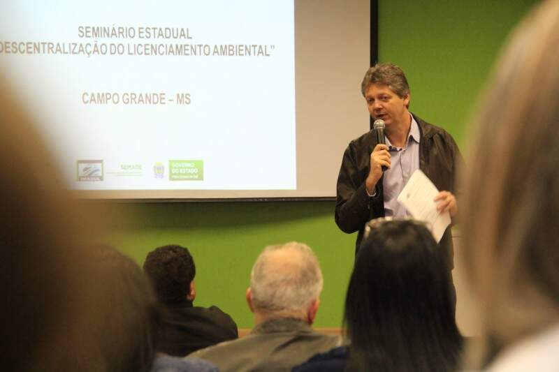 Seminário quer preparar municípios e conferir agilidade à outorga de licenciamentos ambientais. (Foto: Marcos Ermínio)