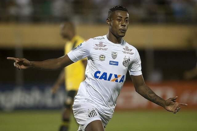 Bruno Henrique fez três gols em partida contra o Bahia (Ivan Storti/Santos FC)
