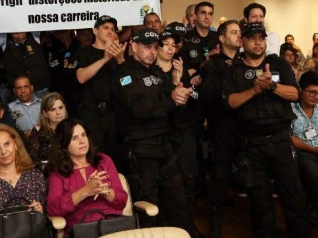 Alterações foram aprovadas pela Assembleia na semana passada, sendo acompanhadas por servidores. (Foto: Divulgação)