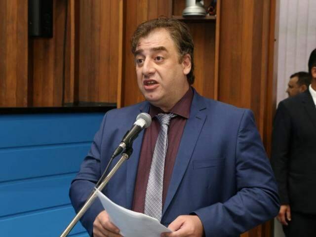 Deputado estadual Neno Razuk, novo presidente do PTB (Foto: Assessoria/ALMS)