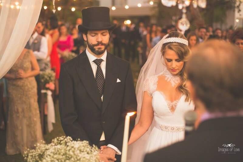 Como Fabrízio mora em Londres, a ideia da noiva era mostrar um pouco da cultura do lugar