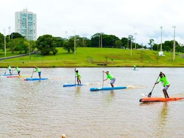 Stand up paddle será uma das modalidades dos Jogos Radicais Urbanos (Foto: Divulgação)