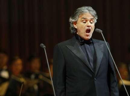 Andrea Bocelli faz show para privilegiados dia 12 em MS
