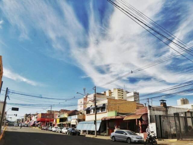 Inmet aponta fraca chance de chuva na Capital na sexta-feira e temperaturas em declínio. (Foto: Fernando Antunes)