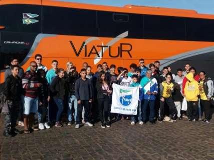 Delegação de MS viaja com 39 atletas para Brasileiro de karate olímpico