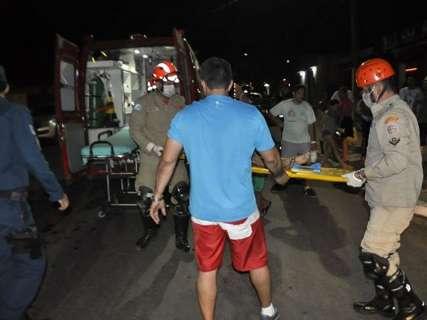 Criança é atropelada por carro ao se soltar da mão do padrasto em Coxim