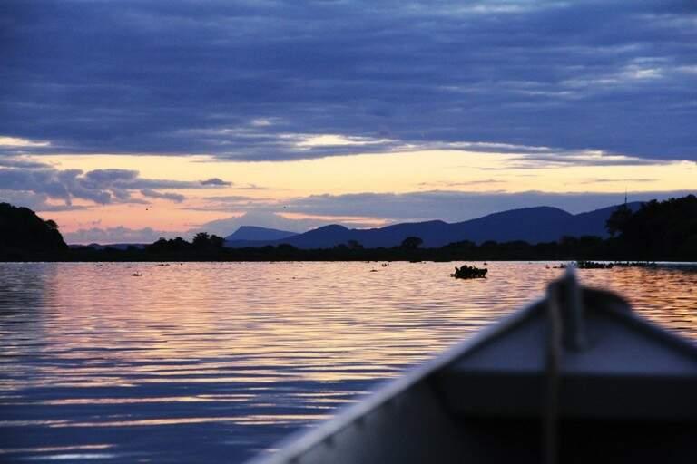 Rio Taquari sofre com processo de degradação ambiental. (Foto: Divulgação/MPF)