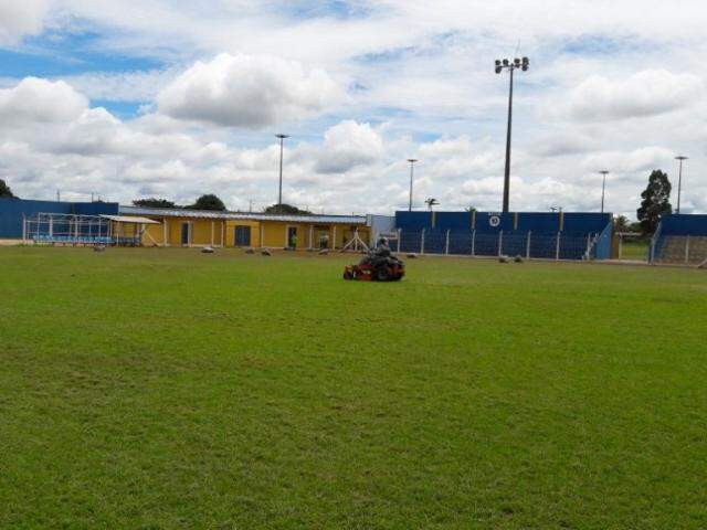 Estádio Jacques da Luz nas Moreninhas foi revitalizado (Foto: Divulgação)