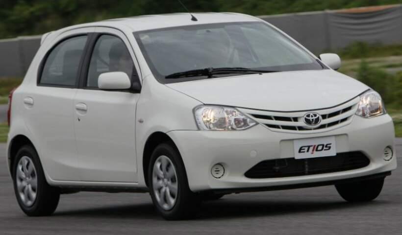 Etios é o primeiro compacto da Toyota comercializado no País. (Foto: Divulgação)