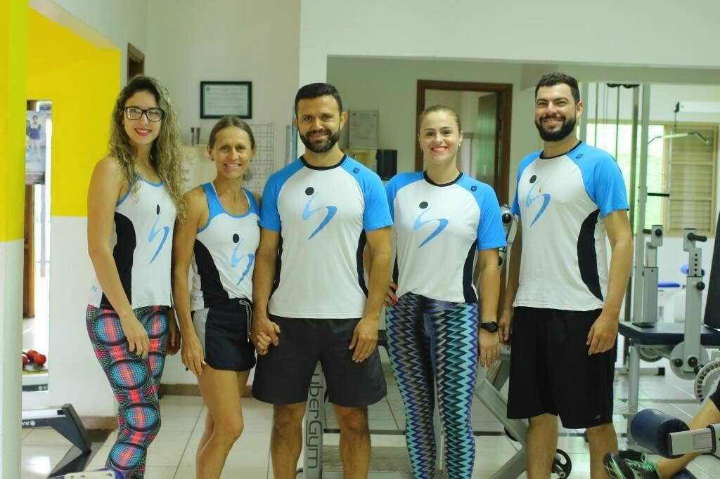 Equipe da Corpo & Saúde tem formação específica para musculação adaptada.Foto: André Bittar