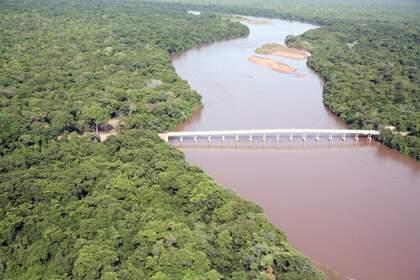 Projetos tentam recuperar Rio Taquari, um dos mais degradados de MS. (Foto: Divulgação)