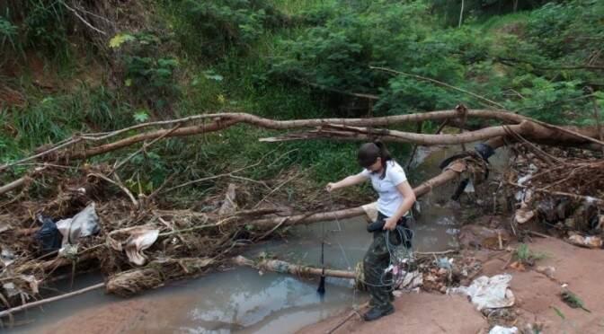 Pesquisa analisa os nutrientes da água e as alterações que ela pode ter sofrido devido à interferência humana. (Foto: Divulgação)