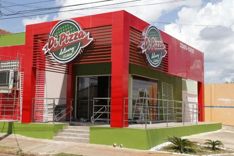 A nova loja Di Pizza Delivery fica na Rua Manoel Joaquim de Moraes, 1329 no Jardim Leblon