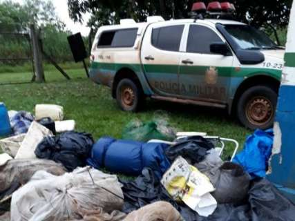 Turistas são presos por pesca predatória; dois por invadirem parque em MS