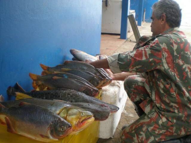 Durante período de proibição de pesca, PMA vai contar com efetivo de 360 militares fiscalizando. (Foto: Divulgação/PMA)