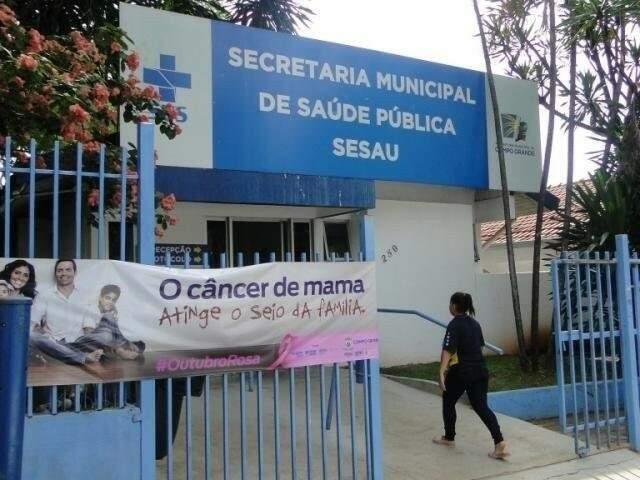 Secretaria Municipal de Saúde em Campo Grande (Foto: Arquivo/Campo Grande News)