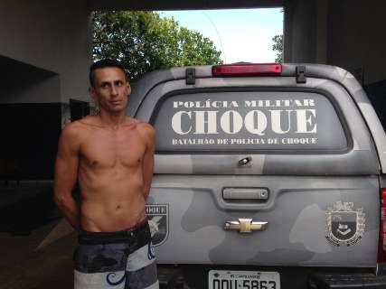 Durante curso, policiais militares prendem foragido da justiça no Aero Rancho