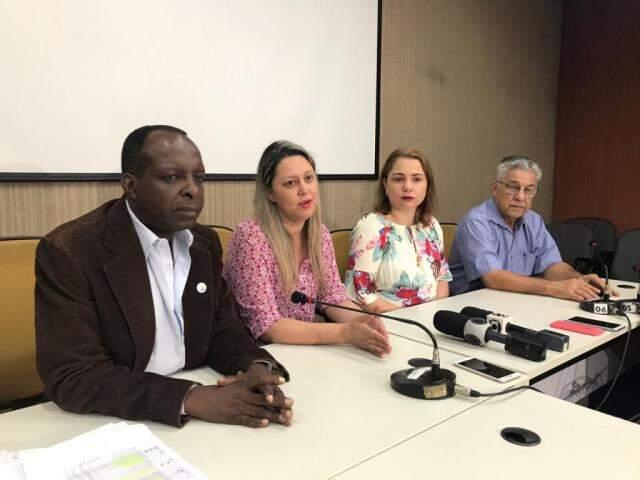 Comissão eleitoral divulgou o resultado do pleito (Foto: Fernanda Palheta)