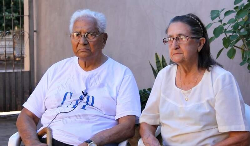 Ema Klein Pires e Jaziel Silveira Pires nasceram antes da fundação da cidade (Foto: Chico Leite/Divulgação)